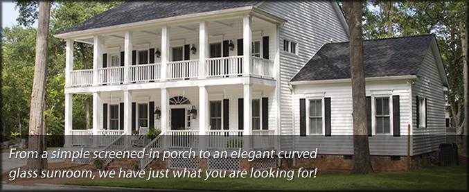 Enloe Residential Screen Porch