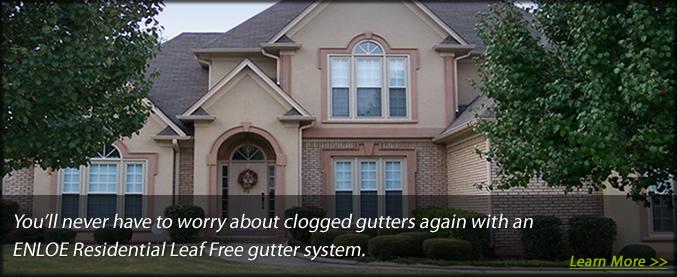 Gutters Enloe Residential